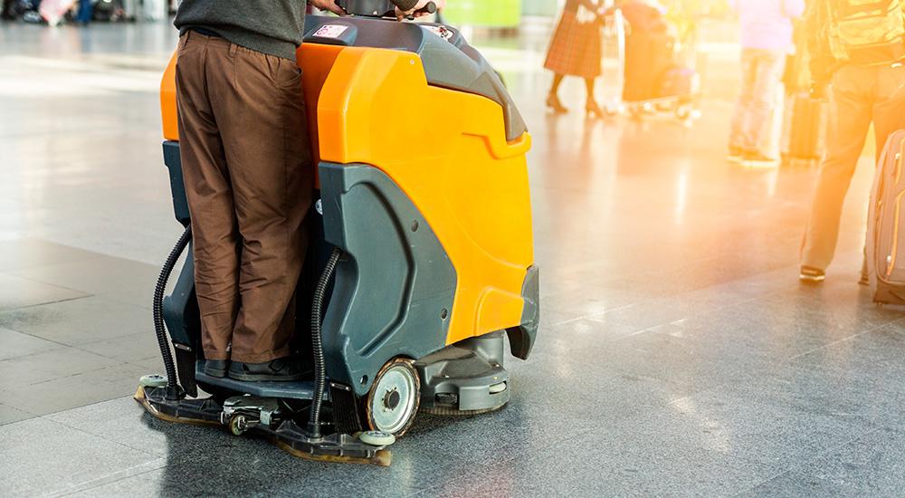 Renting de Máquinas de Limpieza Industrial